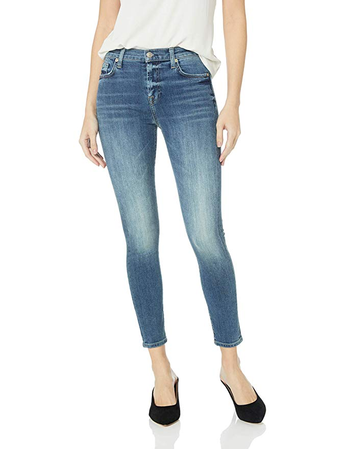 Women's Ankle Skinny High Rise Jeans