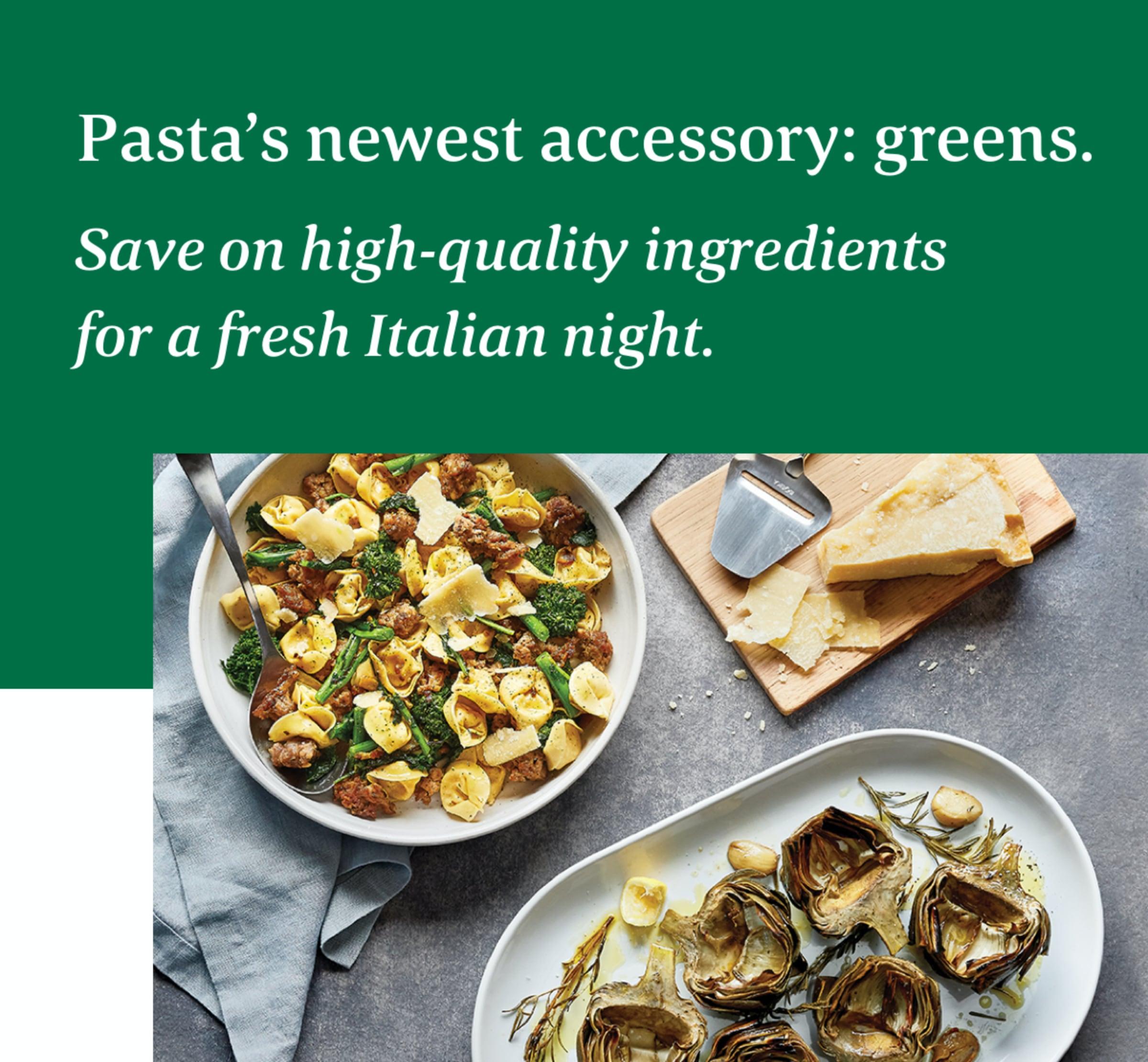 Foods Market italian food promo